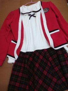 學院風制服 洋裝 學生服