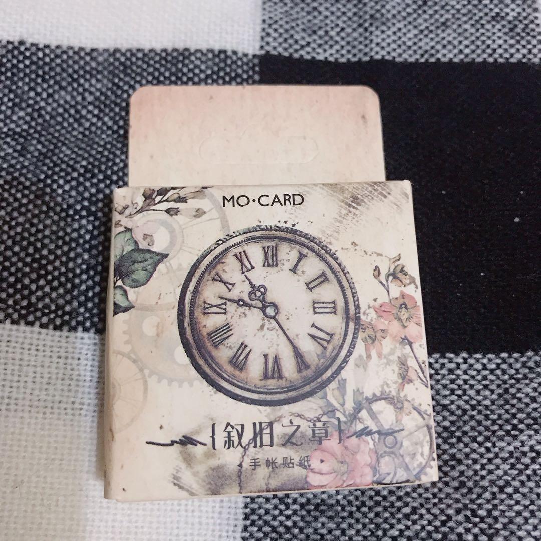 復古貼紙 蒸氣龐克 手帳 手札 裝飾