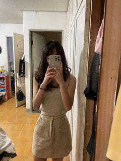 水波紋A字裙
