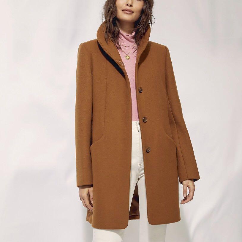 Aritzia cocoon coat