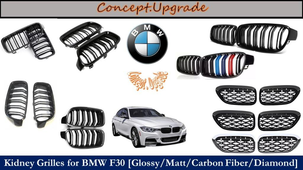 BMW F30 ASSORTED FRONT KIDNEY GRILLES