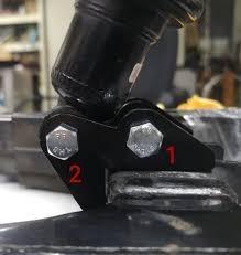 Bracket Rendah Monoshock RS150 Arm Standard PNP #10Saja