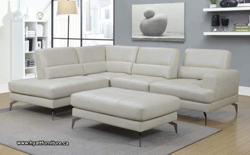 Brand new Designed Sectional Sofa with Ottoman only $1398