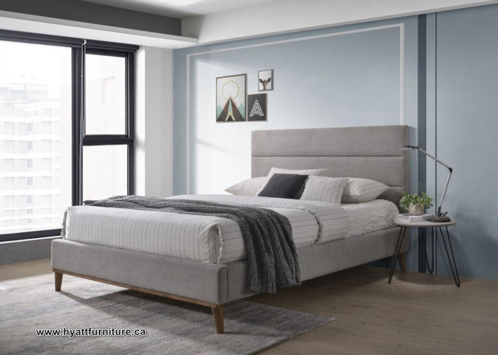 Brand new Double Elegant Fabric Bed only $298