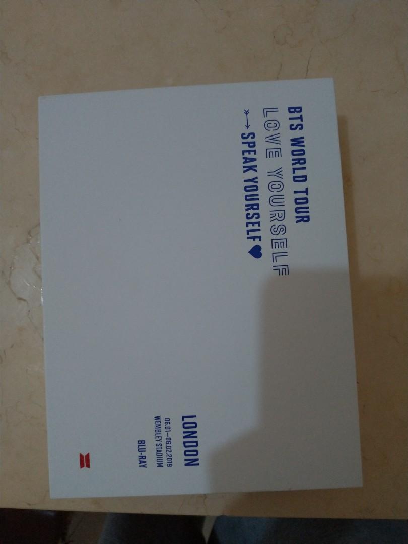 bts 倫敦 藍光 DVD
