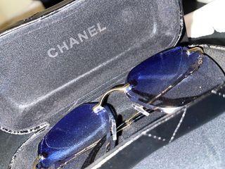 Chanel Inspired Rimless Sunglasses