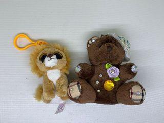 Gantungan Boneka singa dan beruang