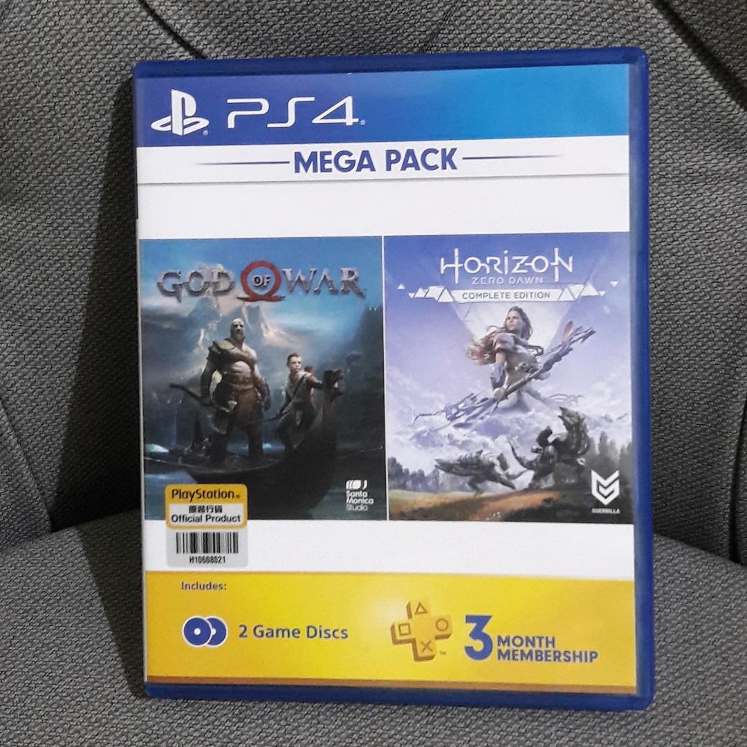 Kaset PS4 GOD OF WAR & HORIZON ZERO DAWN