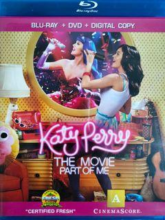 Katy Perry The Movie Part of Me (2012) art Blu Ray preloved
