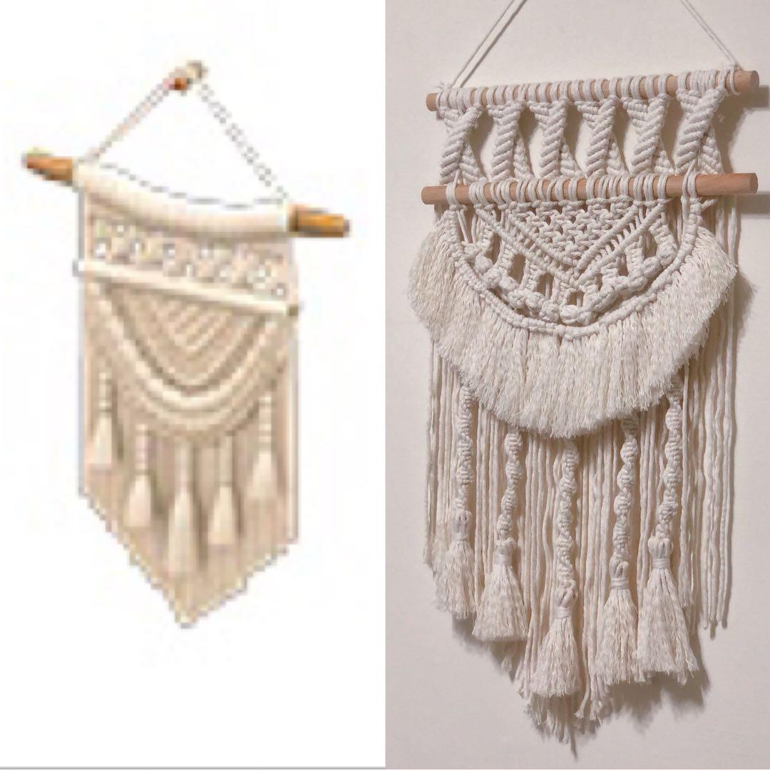 Macrame 編織掛毯 動森款