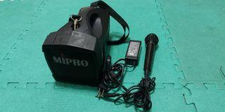 MIPRO MA-101  行動麥克風 BSD BA-9500 CHIAYO WA-100 夜市 教學解說  農場 非指向性喇叭 鐵三角電容麥克風 YAMAHA 電子琴  廣播擴大機  小蜜蜂 POKKA