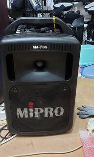 MIPRO MA-708行動麥克風 廣播擴大機 指向性喇叭 鐵三角電容麥克風 小蜜蜂 教學 解說農場 夜市 全罩隔音耳機VIC FIRTH POKKA 廣播擴音機 ROLAND Td-1電子鼓 電子琴 BSD CHIAYO無線麥克風