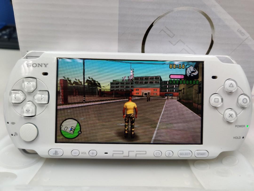 98%new SONY PSP 3000 白 Hacked 已改機 破解