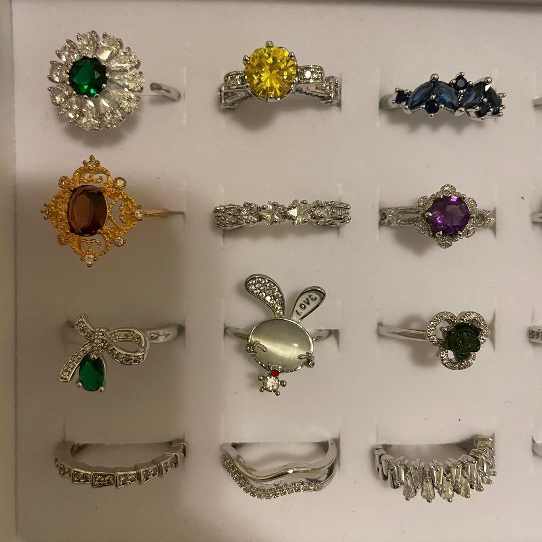 Stone rings and Zircon tings