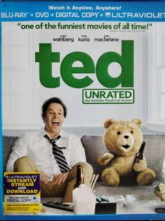 Ted (2012) Blu Ray preloved Seth Wahlberg NOT* Family Guy