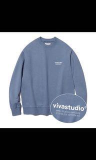 Vivastudio-Location LOGO圓領大學T  韓國官網購入(正品)