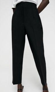 Zara 高腰長褲 M號