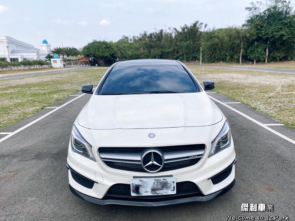 2015 Benz CLA45