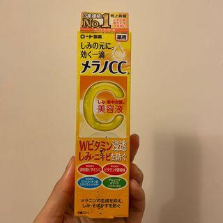 📣  日本 ROHTO 樂敦 CC美容液  維他命C 精華液 VC 美白 淡斑 集中對策