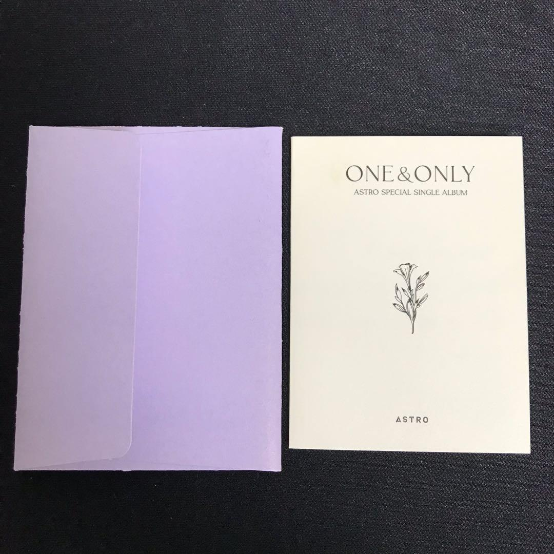 車銀優 one&only 訊息卡
