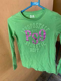 Aeropostale PSNY Girls' L/S Shirt