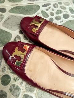 Auth Tory Burch Brown Pumps 8M