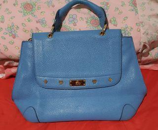 Authentic MCM top handle bag