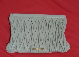 Authentic Miu Miu Clutch bag