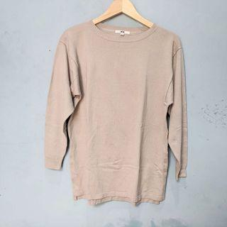 Blouse lengan 7/8 by UNIQLO
