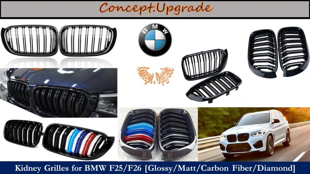 BMW X3 F25 X4 F26 ASSORTED FRONT KIDNEY GRILLES