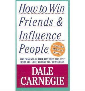 Buku How to Win Friends & Influence People Impor Import Inggris English Komunikasi Communication Speak Speaking Book Original