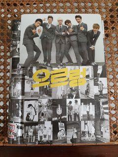EXO - GROWL ALBUM KOREAN VER PHOTOCARD EXO-K PC UNSEALED PRELOVED