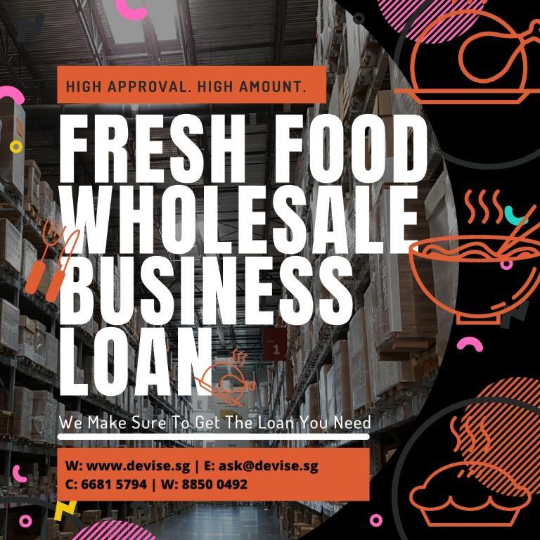 LF Fresh Food Wholesale Business | Business Consultant Broker | Raise Capital