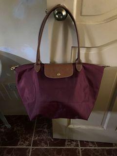 Longchamp Le Pliage Long Handle Tote Bag
