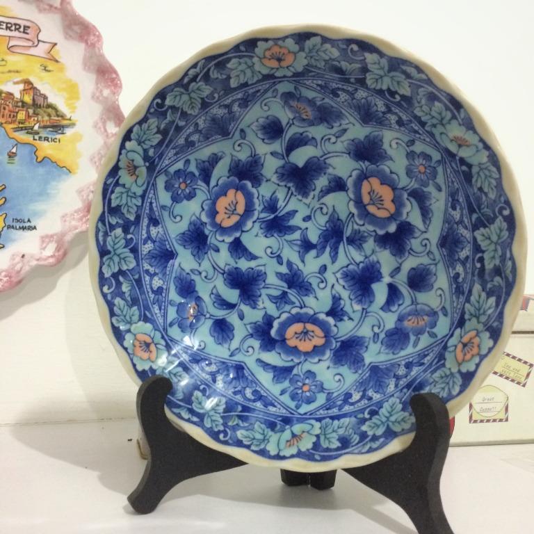 Piring Pajangan / Hiasan Meja Chinese Antique Porcelain -Preloved-