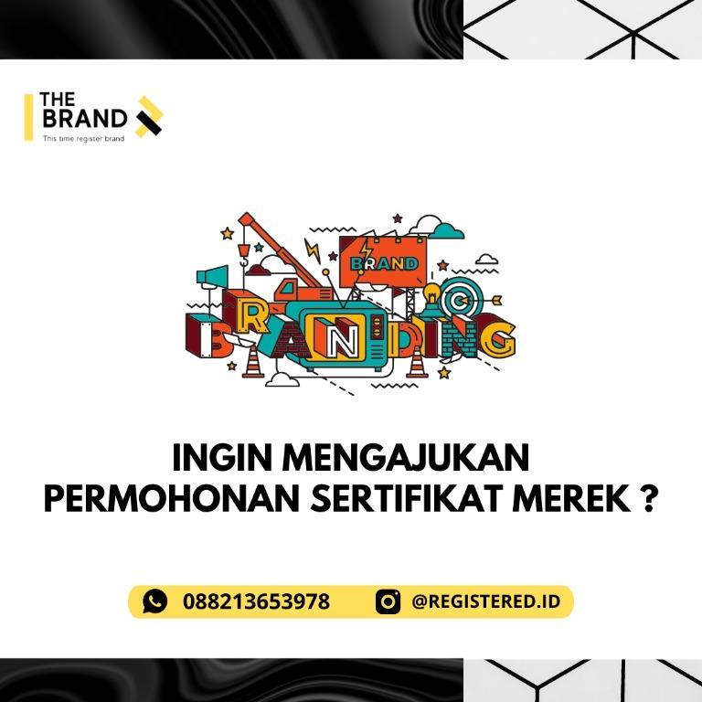 sertifikat merek online