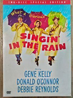 Singin in the Rain (1952) DVD Region 3 special edition 2-Disc preloved