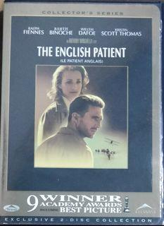 Th English Patient (1996) Collectors' Edition 2-Disc DVD preloved Fiennes Binoche Dafoe