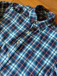 Timberland格紋襯衫
