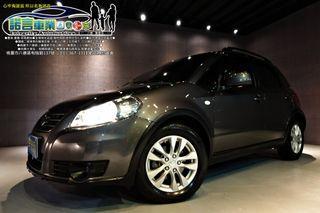 2013年 SUZUKI SX4 I-KEY 恆溫 導航 倒車顯影 車頂行李架 原廠保養 全額貸0頭款