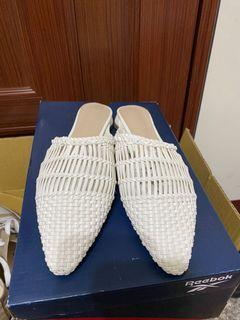 正韓編織懶人鞋
