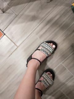 民族風涼鞋