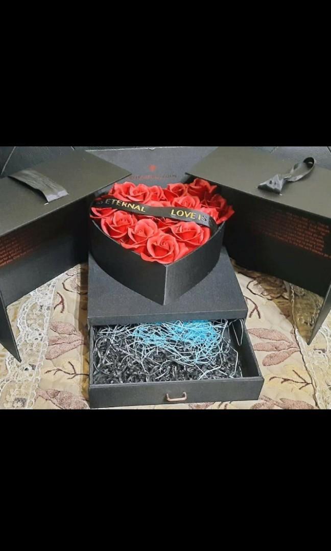 情人節禮盒 玫瑰花禮盒  生日禮盒