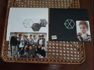 EXO - MAMA ALBUM KOREAN CHINESE VER. PHOTOCARD OT 12 GRUP XIUMIN OFFICIAL PC UNSEALED PRELOVED