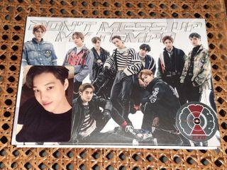 EXO - DON'T MESS UP MY TEMPO REPACKAGE VIVACE ALBUM KAI SET PHOTOCARD POSTER OFFICIAL UNSEALED