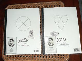 EXO - XOXO ALBUM KISS HUG KOREAN CHINESE VER PHOTOCARD CHANYEOL TAO OFFICIAL PC UNSEALED PRELOVED