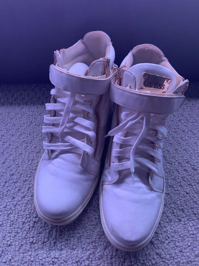 Guess high top sneakers