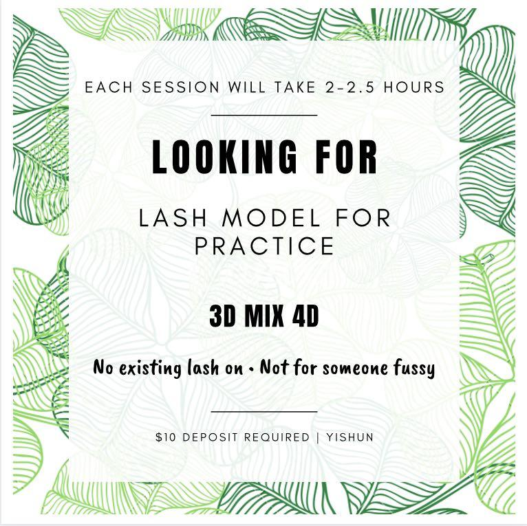 [PROMO] Looking for 3-4D mix lash model