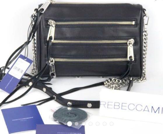 Rebecca Minkoff Leather Crossbody Bag斜背包