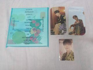 Seventeen Henggarae Album, Photocard, Bookmark